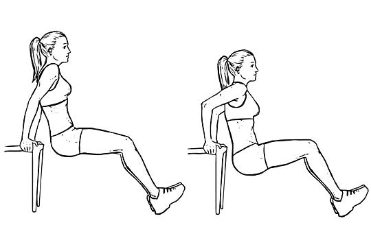 Esercizi per le braccia 1